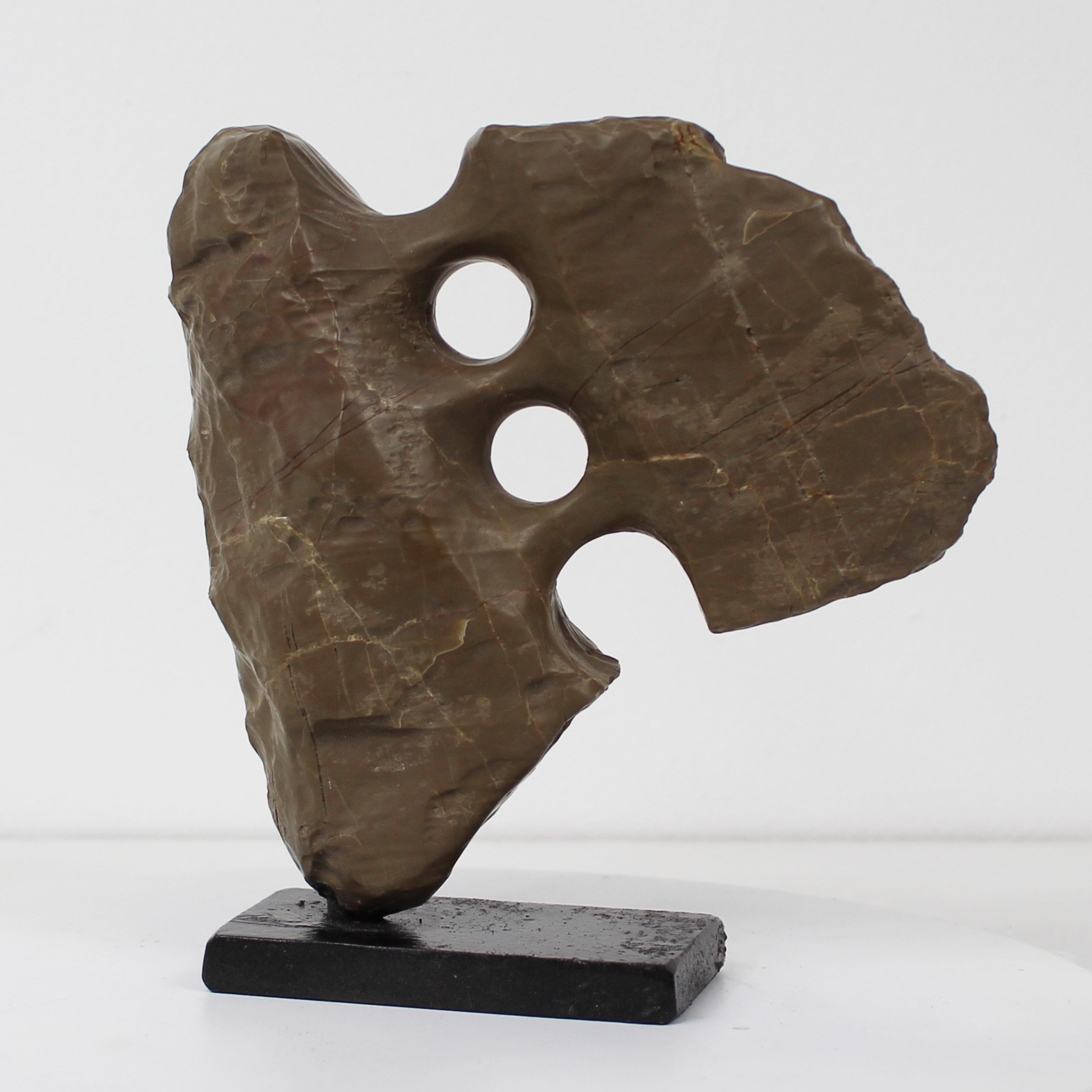 Gilbert Frizon - 90 Ex-tension XC - Sculpture calcaire - Exposit