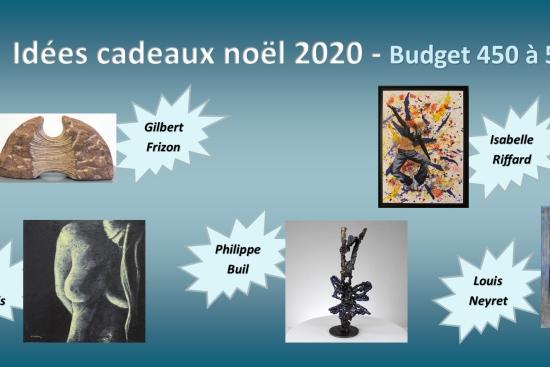Selection cadeau noel 2020 galerie Art Pluriel Rive Droite Saint