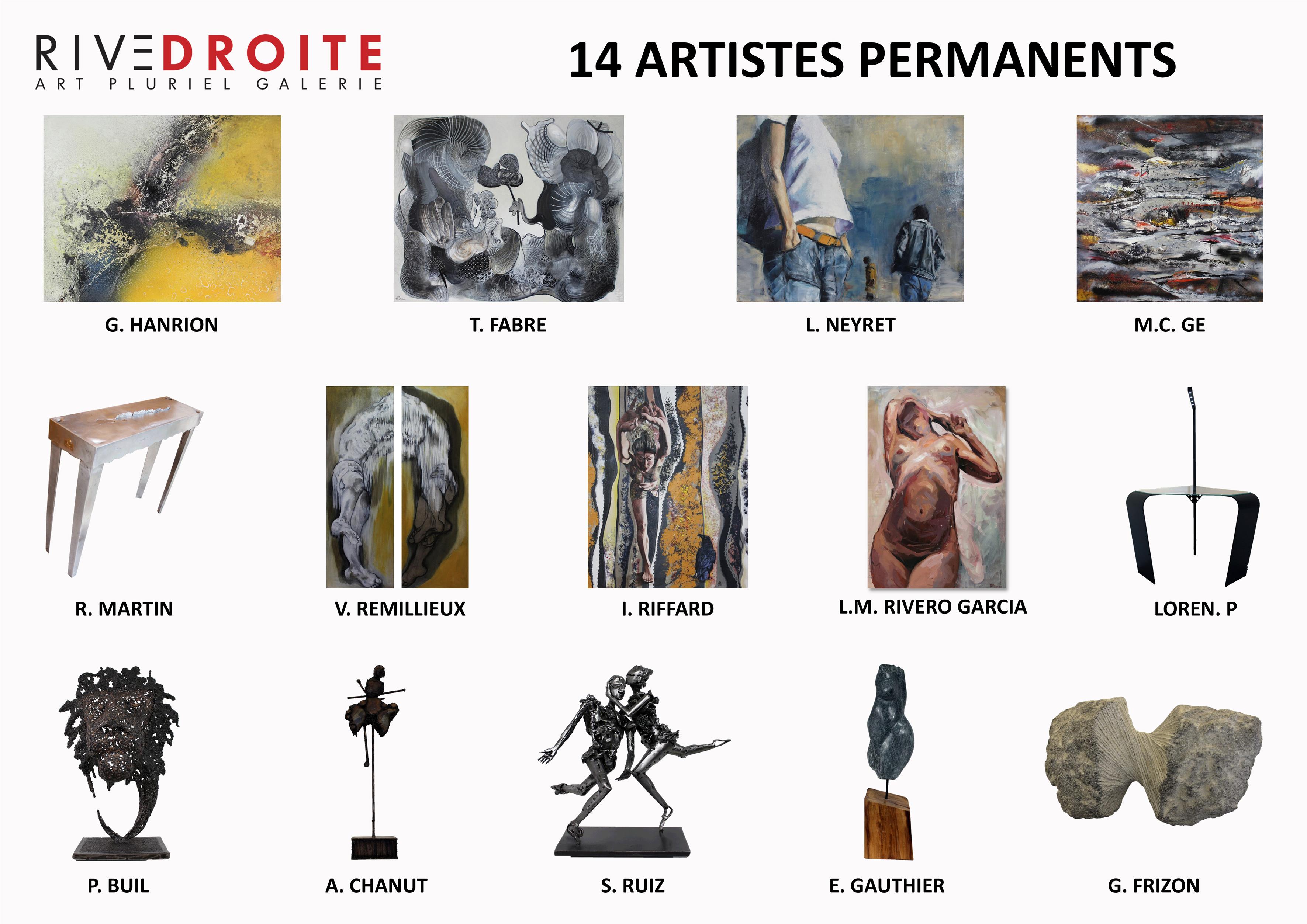 Exposition galerie Art Pluriel Rive Droite Saint Etienne