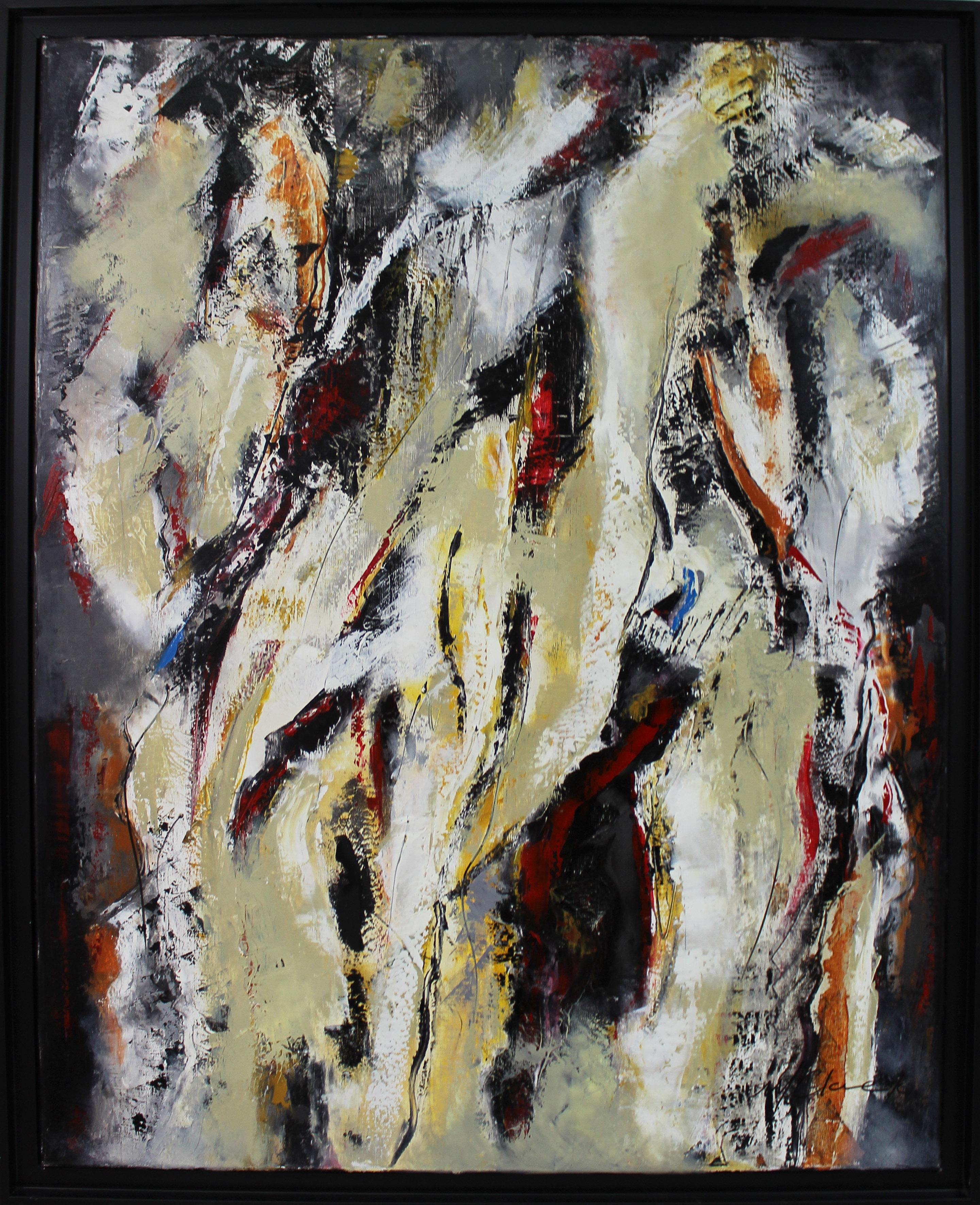 Exposition des tableaux de Marie Claire Ge - Exposition Galerie