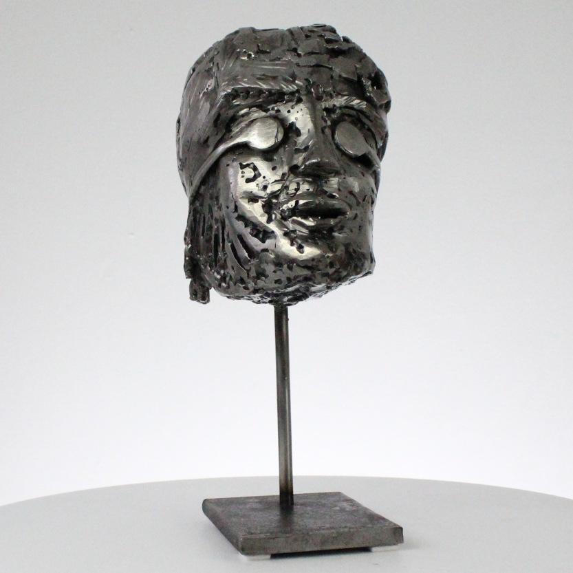 Sculptures metal de Sébastien Ruiz L'explorateur