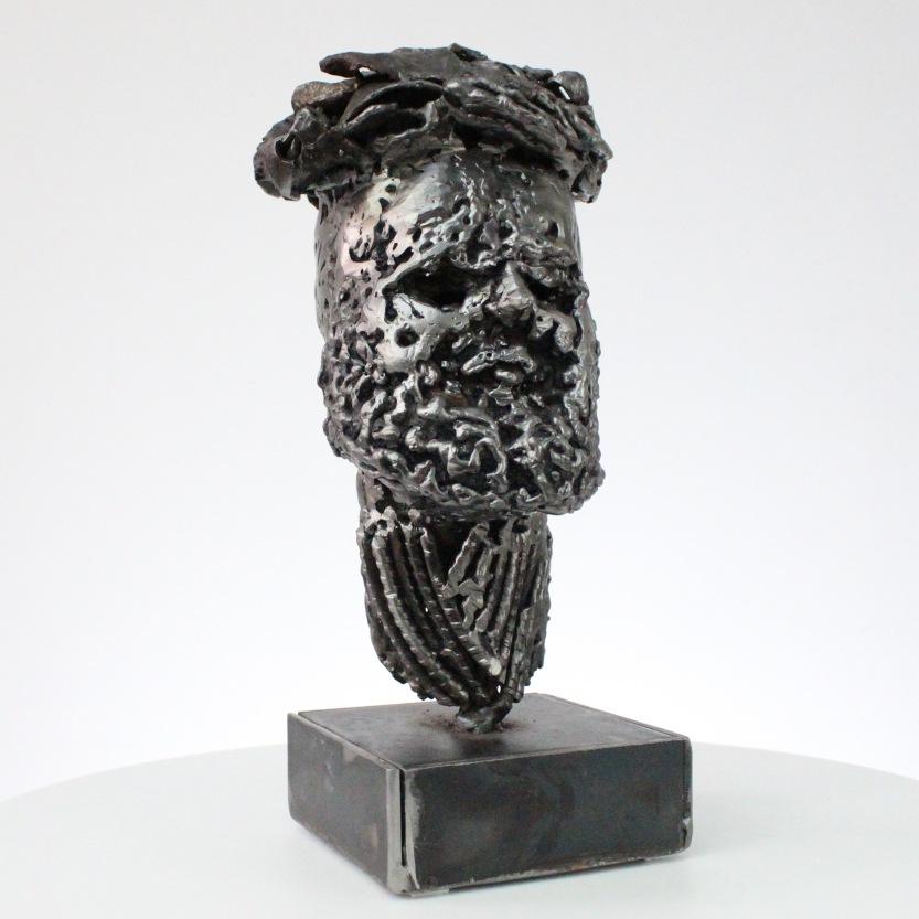 Sculptures metal de Sébastien Ruiz Lé légionnaire