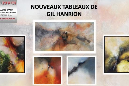 Tableau de Gil Hanrion - Exposition Galerie Art Pluriel Saint Et