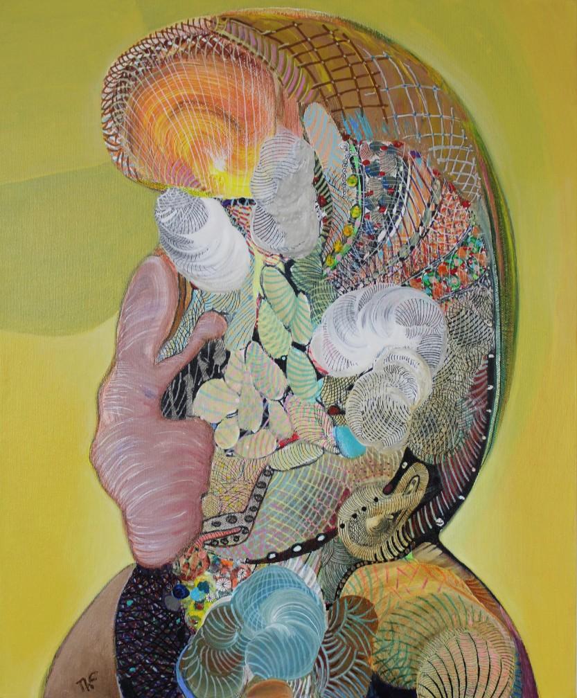 Adolescence - Peinture de Thierry Fabre - Exposition Galerie Art Plur