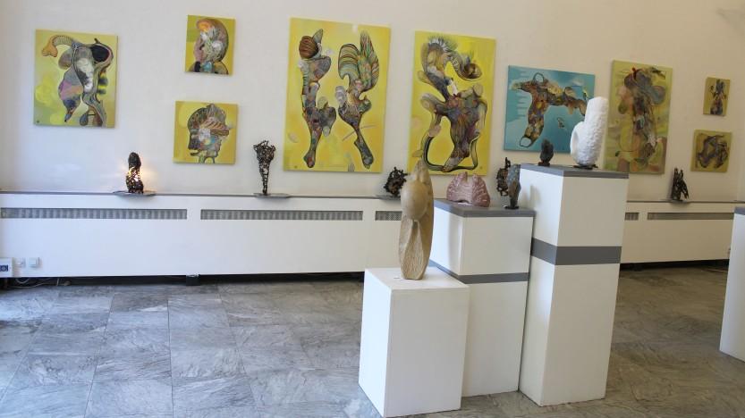 Peinture de Thierry Fabre - Exposition Galerie Art Plur