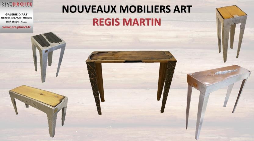 Mobilier art - Regis Martin - Exposition Galerie Art Pluriel Riv
