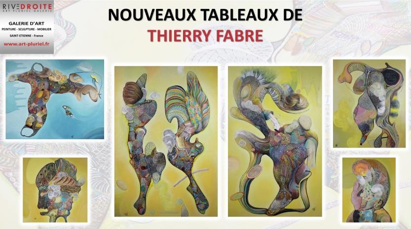 Peinture de Thierry Fabre - Exposition Galerie Art Pluriel Rive